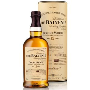 Balvenie DoubleWood 12 Year, scotch, single malt scotch whiskey