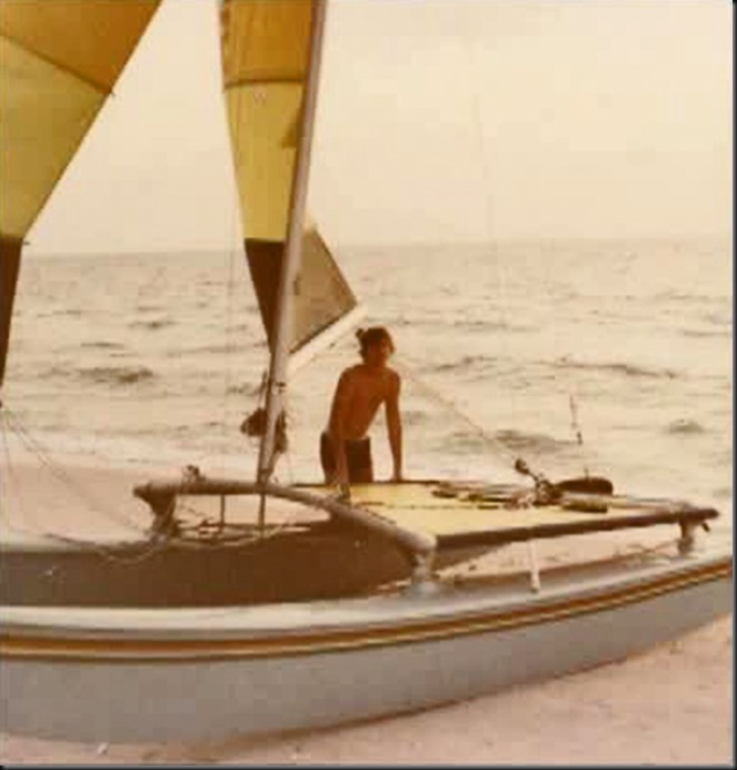 Ed hobie cat 1981